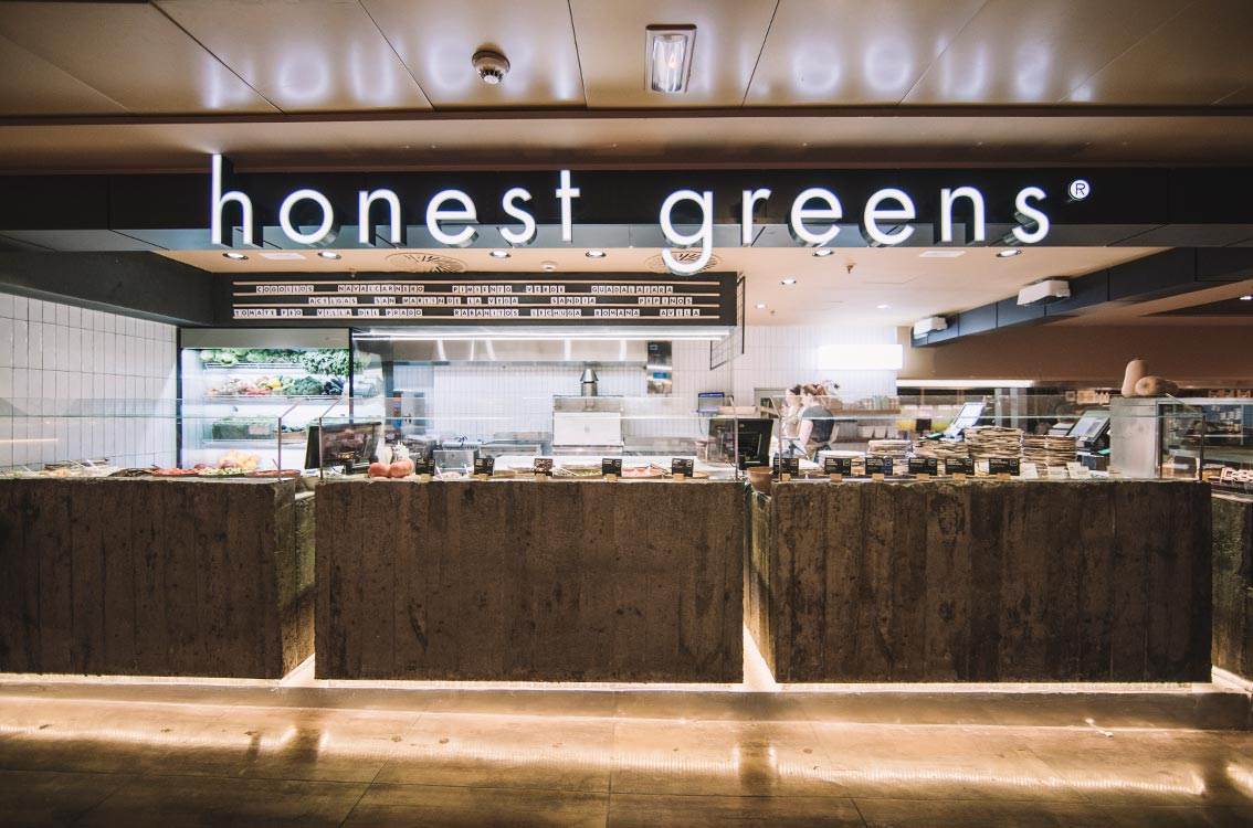 Honest Greens Corte Inglés